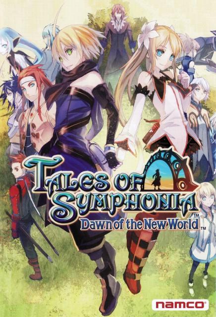 Namco, Tales of Symphonia, Genis Sage, Lloyd Irving, Regal Bryant