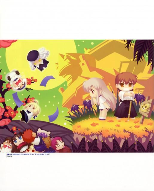 Black (Mangaka), TYPE-MOON, Type-MOON Comic Illust Book, Fate/Hollow ataraxia, Fate/stay night