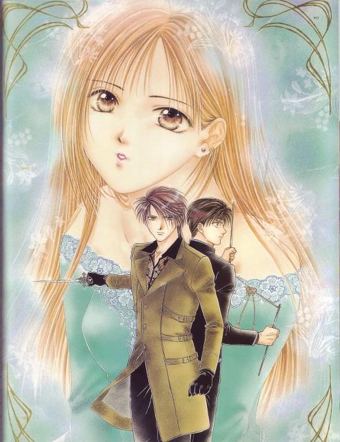 Yuu Watase, Studio Pierrot, Ayashi no Ceres, Tsumugi Uta ~Amatsu Sora Naru Hito o Kofutote~, Touya (Ayashi no Ceres)