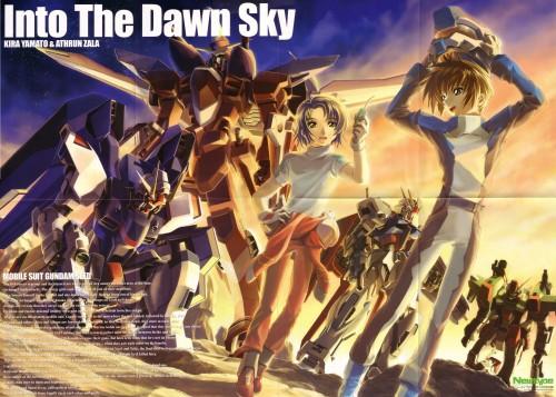 RGB, Mobile Suit Gundam SEED, Kira Yamato, Athrun Zala, Newtype Magazine