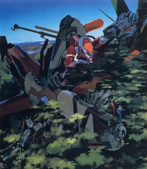Yoshiyuki Sadamoto, Neon Genesis Evangelion, Shinji Ikari, Asuka Langley Soryu, Unit-02