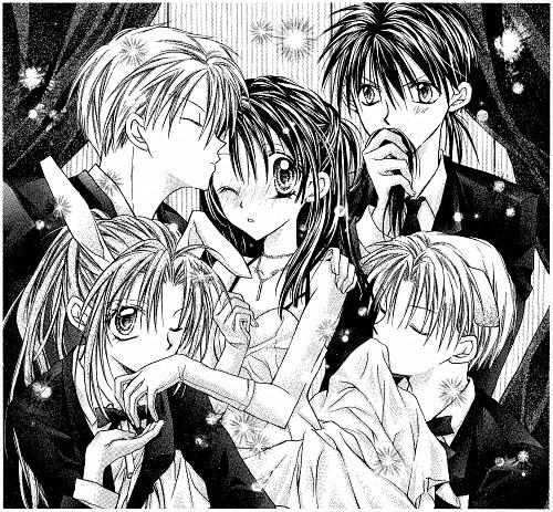 Arina Tanemura, Full Moon wo Sagashite, Meroko Yui, Takuto Kira, Eichi Sakurai