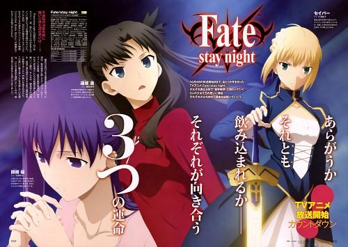 Shinji Yamamoto, Ufotable, Fate/stay night, Rin Tohsaka, Saber