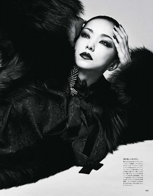 Namie Amuro, Magazine Page