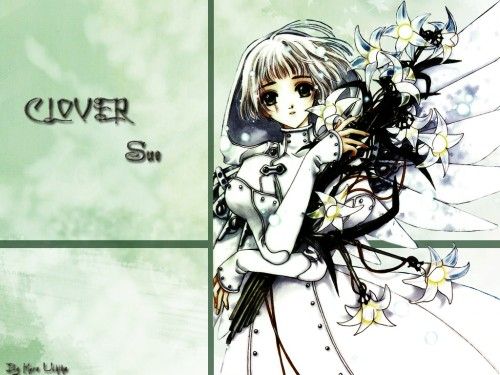CLAMP, Clover, Suu Wallpaper