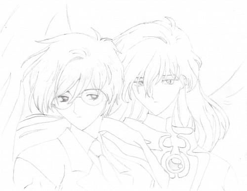 Cardcaptor Sakura, Yue, Yukito Tsukishiro, Member Art