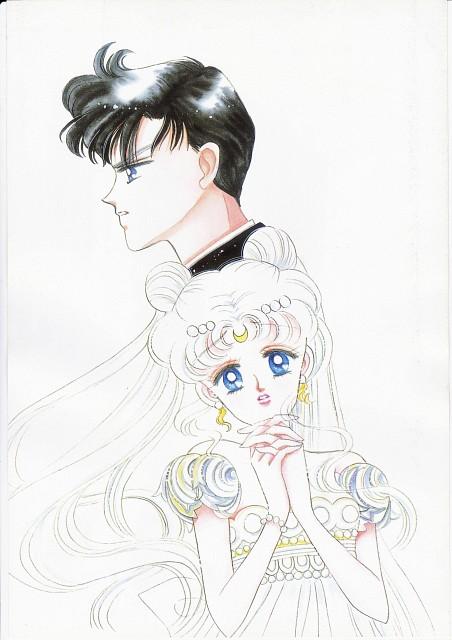 Naoko Takeuchi, Bishoujo Senshi Sailor Moon, BSSM Original Picture Collection Vol. I, Princess Serenity, Prince Endymion