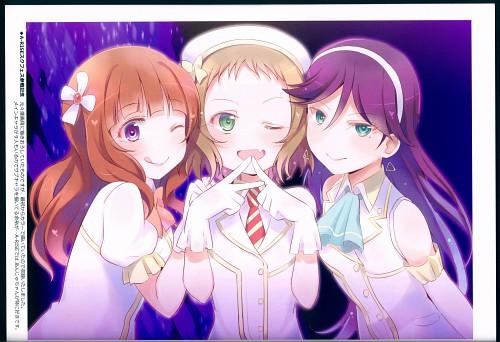 Tomoe Kitahara, Love Light Bringer!, Love Live! School Idol Project, Anju Yuuki, Erina Toudou
