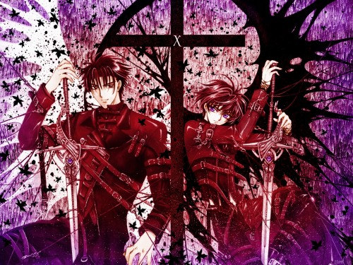 CLAMP, Madhouse, X, Kamui Shirou, Fuuma Monou Wallpaper