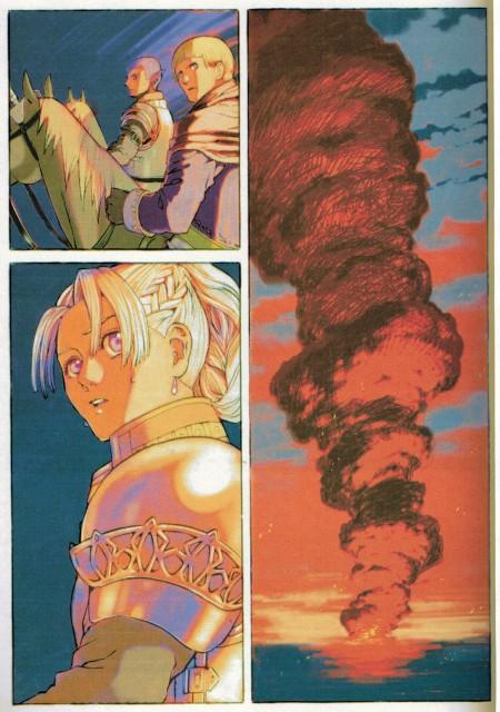 Aki Shimizu, Konami, Suikoden III, Roland Lazarus, Salome Harras