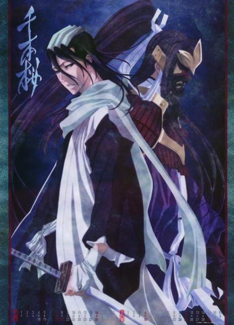 Studio Pierrot, Bleach, Bleach 2010 Calendar B, Byakuya Kuchiki, Calendar