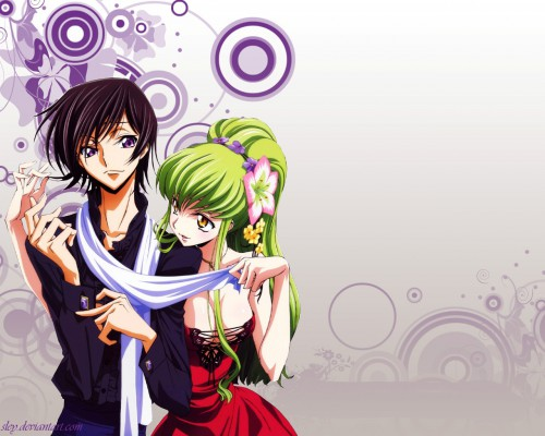 Takahiro Kimura, Sunrise (Studio), Lelouch of the Rebellion, Lelouch Lamperouge, C.C. Wallpaper