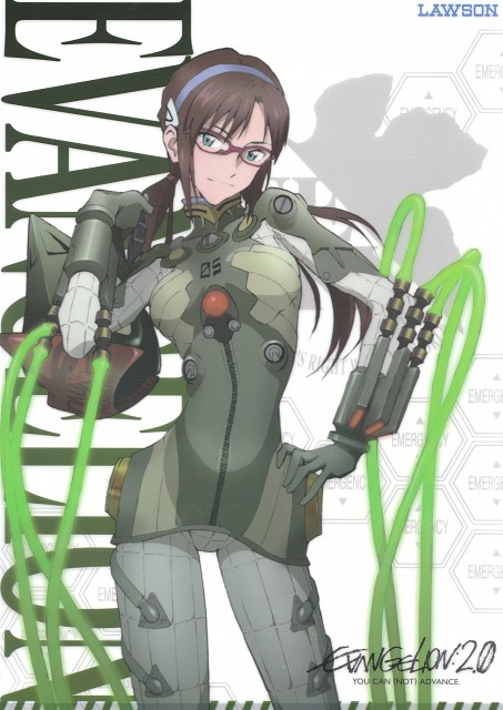 Yoshiyuki Sadamoto, Gainax, Neon Genesis Evangelion, Makinami Mari Illustrious