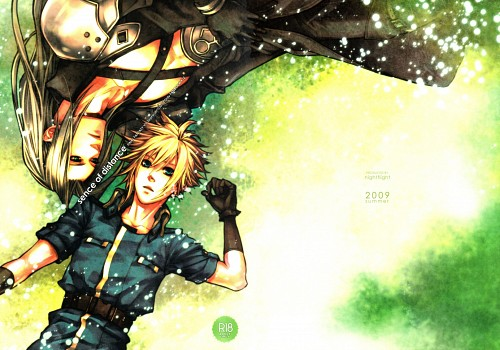 Final Fantasy VII, Sephiroth, Cloud Strife, Doujinshi, Doujinshi Cover