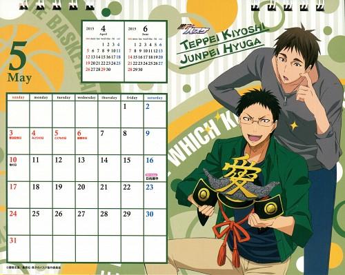 Tadatoshi Fujimaki, Production I.G, Kuroko no Basket, Kuroko No Basket Calendar 2015, Teppei Kiyoshi