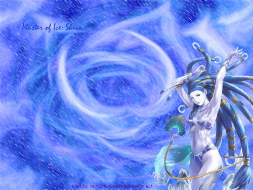 Square Enix, Final Fantasy X, Shiva (Final Fantasy) Wallpaper