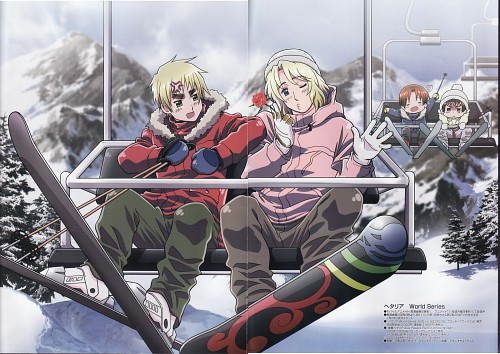 Hidekaz Himaruya, Studio DEEN, Hetalia: Axis Powers, Italy, Japan