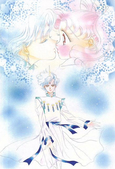 Naoko Takeuchi, Bishoujo Senshi Sailor Moon, BSSM Original Picture Collection Vol. IV, Helios, Chibi Usa