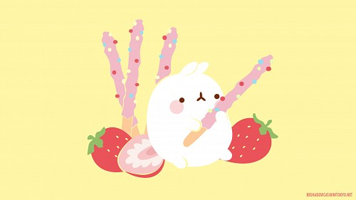 Molang, Vector Art Wallpaper