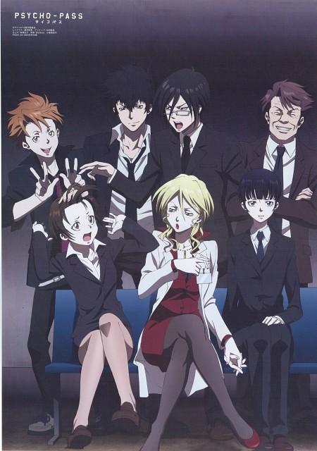 Production I.G, PSYCHO-PASS, Kagari Shuusei, Akane Tsunemori, Shion Karanomori