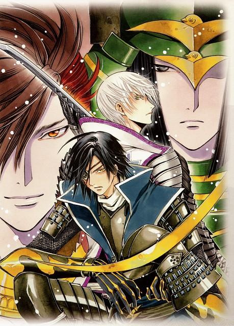 CLAMP, Sengoku Basara, Mitsunari Ishida (Sengoku Basara), Sakon Shima (Sengoku Basara), Katsuie Shibata (Sengoku Basara)