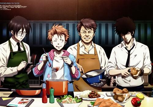 Production I.G, PSYCHO-PASS, Ginoza Nobuchika, Shinya Kougami, Masaoka Tomomi