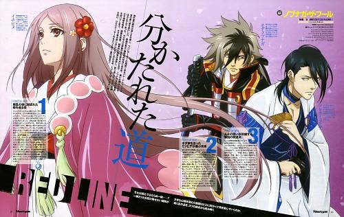 Kanji Nagisaka, Satelight, Nobunaga the Fool, Nobunaga Oda (Nobunaga the Fool), Mitsuhide Akechi (Nobunaga the Fool)