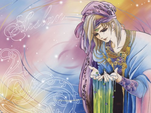 Yoshitaka Amano, Heroic Legend of Arslan, Arslan Wallpaper