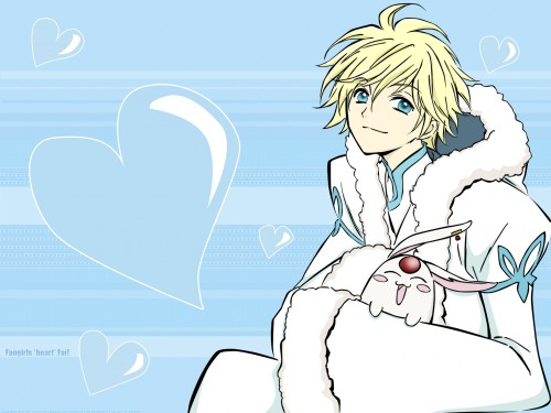 CLAMP, Bee Train, Tsubasa Reservoir Chronicle, Mokona, Fay D. Flourite Wallpaper
