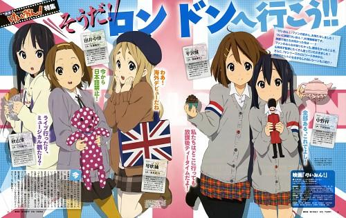 Yukiko Horiguchi, Kyoto Animation, K-On!, Mio Akiyama, Tsumugi Kotobuki