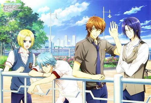 Yuki Kure, Koei, Kiniro no Corda 3, Daichi Sakaki, Kyouya Kisaragi