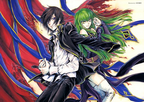 Kaori Yuki, Lelouch of the Rebellion, Lelouch Lamperouge, C.C.