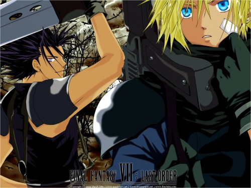 Square Enix, Final Fantasy VII, Zack Fair, Cloud Strife Wallpaper