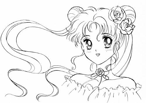 Naoko Takeuchi, Bishoujo Senshi Sailor Moon, Usagi Tsukino, Coloring Book