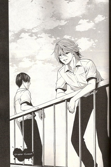 P.A. Works, Another, Naoya Teshigawara, Kazami Tomohiko, Chapter Cover