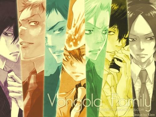 Akira Amano, Artland, Katekyo Hitman Reborn!, Takeshi Yamamoto, Mukuro Rokudo Wallpaper
