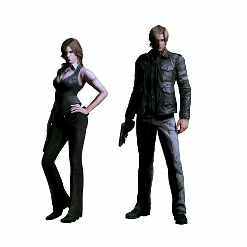 Capcom, Resident Evil 6, Leon S. Kennedy, Helena Harper , Official Digital Art