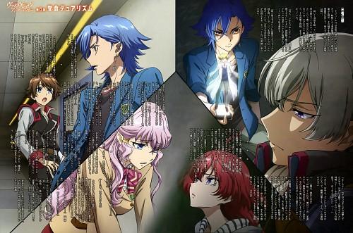 Sunrise (Studio), Kakumeiki Valvrave, Haruto Tokishima, L-elf Karlstein, Jin Hinomoto