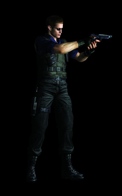 Capcom, Resident Evil 1, Albert Wesker, Official Digital Art