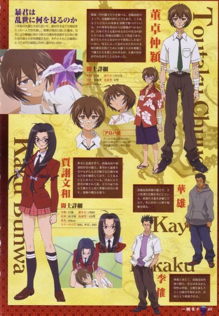 J.C. Staff, Ikkitousen, Kaku Bunwa, Chuuei Toutaku