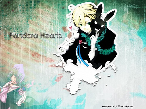 Jun Mochizuki, Xebec, Pandora Hearts, Oz Vessalius, Emily (Pandora Hearts) Wallpaper
