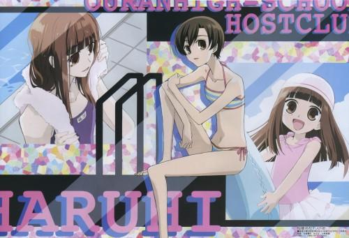 Hatori Bisco, BONES, Ouran High School Host Club, Haruhi Fujioka