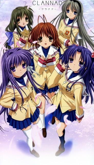 Kyoto Animation, Clannad, Kyou Fujibayashi, Tomoyo Sakagami, Nagisa Furukawa