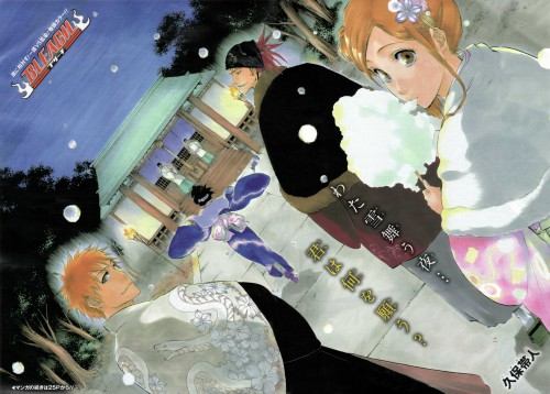 Kubo Tite, Bleach, Rukia Kuchiki, Yasutora Sado, Orihime Inoue