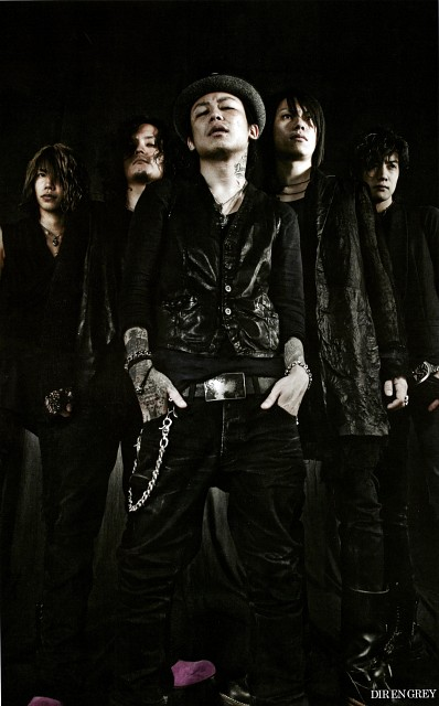 Shinya, Die, Dir en Grey, Kyo (J-Pop Idol), Kaoru (J-Pop Idol)