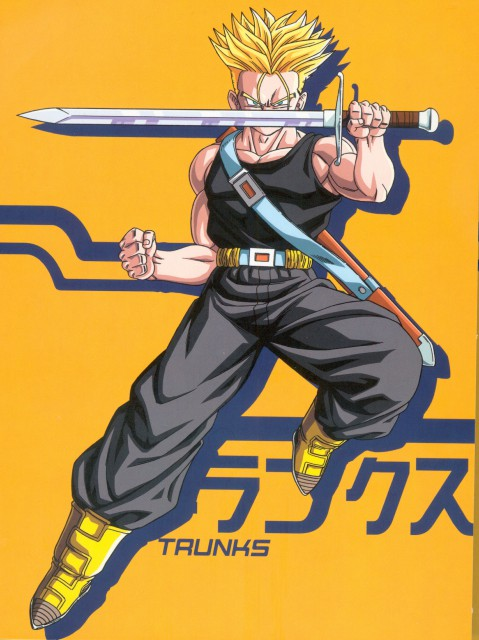 Akira Toriyama, Toei Animation, Dragon Ball, Super Saiyan Trunks