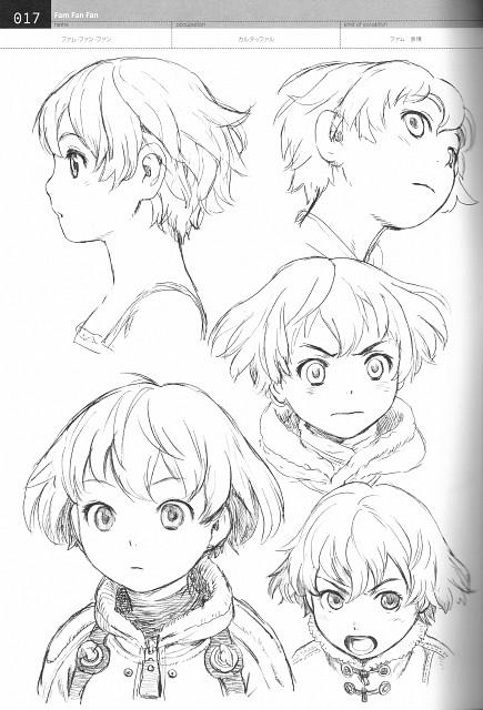 Range Murata, Gonzo, Last Exile, Fam Fan Fan, Character Sheet