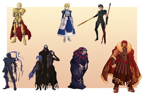 TYPE-MOON, Ufotable, Fate/Zero, Lancer (Fate/Zero), Gilgamesh (Fate/stay night)