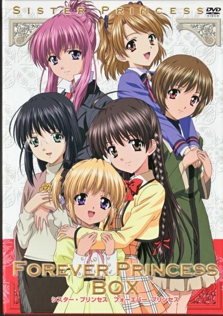 Sister Princess, Rin Rin (Sister Princess), Yotsuba (Sister Princess), Hinako, Chikage