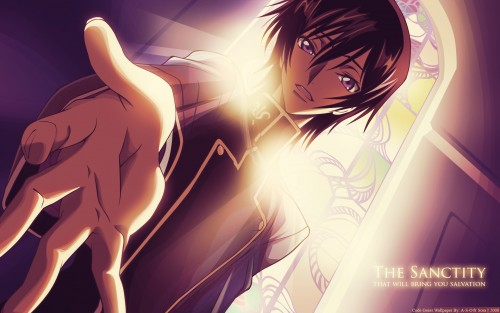 Lelouch of the Rebellion, Lelouch Lamperouge, Vector Art Wallpaper